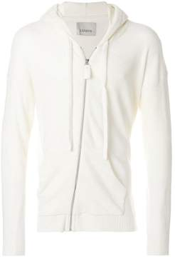 Laneus hooded zip up jacket