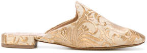 Tory Burch embroidered mules