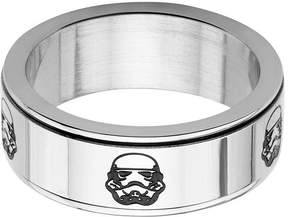 Star Wars FINE JEWELRY Stainless Steel Stormtrooper Spinner Ring