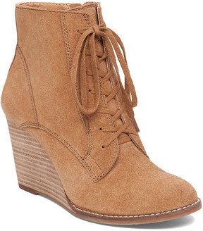 Lucky Brand Yelloh Suede Bootie