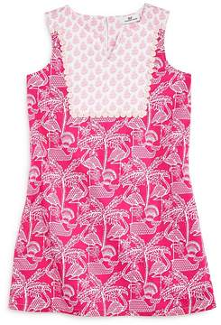 Vineyard Vines Girls' Flamingo-Print Shift Dress - Big Kid
