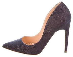 Rupert Sanderson Calice Pointed-Toe Pumps