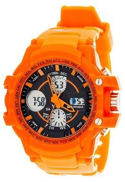 Everlast Men's Analog and Digital Watch Orange