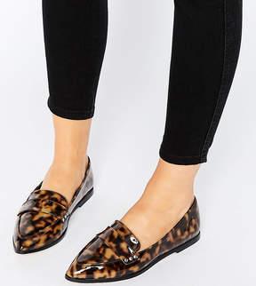 Asos MARIKA Wide Fit Flat Shoes
