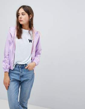 Brave Soul Cupid Lightweight Jacket with Contrast Zip