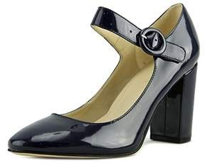 Marc Fisher Womens Shaylie Closed Toe Ankle Strap Mary Jane Pumps.