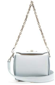 Alexander McQueen Box 19 grained-leather cross-body bag