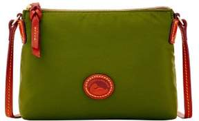 Dooney & Bourke Nylon Crossbody Pouchette Shoulder Bag - OLIVE - STYLE