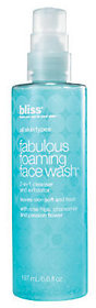 Bliss bliss Fabulous Foaming Face Wash, 6.7 oz