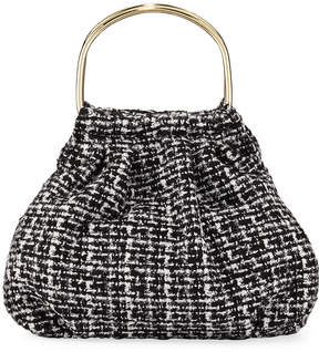 Neiman Marcus Haley Tweed Clutch Bag