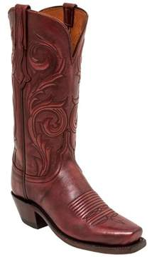 Lucchese Women's Gilmar Western Leather Boot.