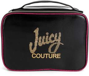 Juicy Couture Saffiano Cosmetic Travel Case W/ Brush Pocket