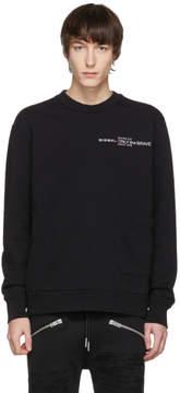 Diesel Black S-Ellis-CL Logo Sweatshirt