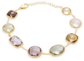 Candela Women's Bezel Set Multi-stone Bracelet
