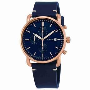 Fossil Commuter Chronograph Blue Dial Men's Watch FS5404