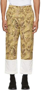 Loewe Yellow William Morris Fisherman Jeans
