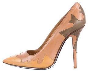 Lucchese Carina Leather Pumps