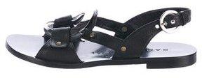 Barbara Bui Leather Embellished Sandals
