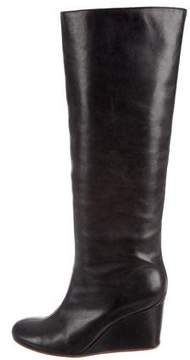 MM6 MAISON MARGIELA MM6 by Maison Martin Margiela Embossed Wedge Boots