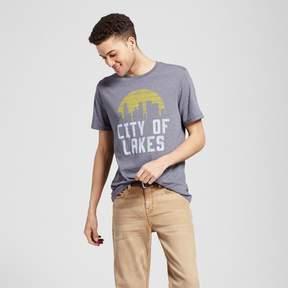 Awake Men's Minneapolis City of Lakes T-Shirt - Charcoal Gray
