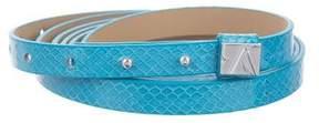 Diane von Furstenberg Leather Wrap-Around Belt