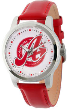 Marvel Avengers Mens Red Strap Watch-Wma000215