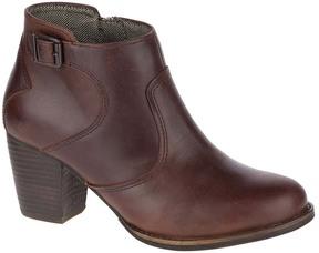 CAT Footwear Tea & Tawny Trestle Leather Bootie