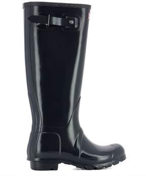 Hunter Blue Rubber Boots