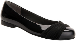 Ros Hommerson Black Onya Patent Leather Flat - Women