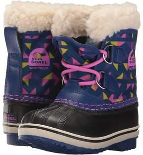 Sorel Yoot Pac Nylon Print Girls Shoes