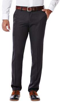 Haggar Big & Tall Slim-Fit Performance Microfiber Flat-Front Slacks