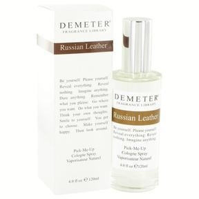 Demeter Russian Leather Cologne Spray for Women (4 oz/118 ml)