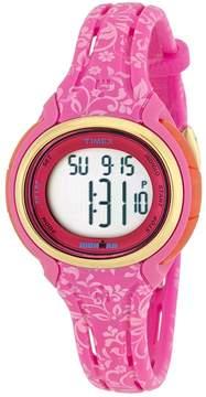 Timex Ironman Digital Dial Pink Resin Ladies Watch