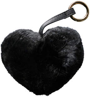 Jocelyn Black Heart Keychain