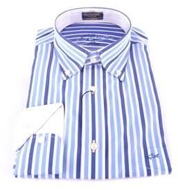 Paul & Shark Men's Light Blue Cotton Shirt.