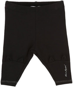 Karl Lagerfeld Leggings w/ Cat Ears on Knees, Size 3-12 Months