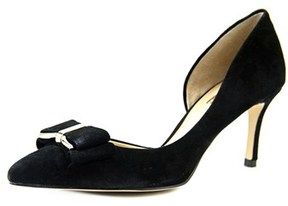 BCBGeneration Perryn Women Pointed Toe Suede Black Heels.