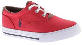 Polo Ralph Lauren Unisex Children's Vaughn II Canvas Sneaker - Little Kid