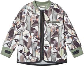 Molo Camouflage Skateboard Ulas Soft Shell Jackets