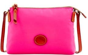 Dooney & Bourke Nylon Crossbody Pouchette Shoulder Bag - FUCHSIA - STYLE