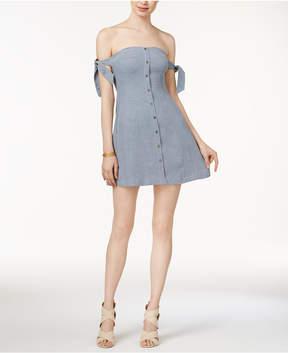 Astr Araceli Off-The-Shoulder Dress