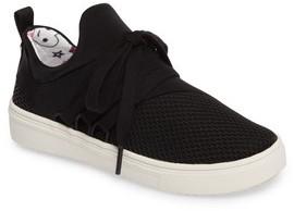 Steve Madden Girl's Lancer Mesh Sock-Fit Sneaker