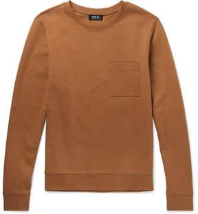 A.P.C. Yogi Cotton-Jersey Sweatshirt