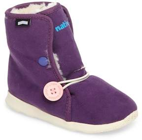 Native Luna Faux Fur Boot (Toddler & Little Kid)