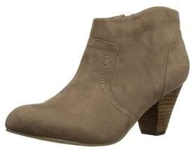 XOXO Womens Aldenson Fabric Closed Toe Ankle Fashion Boots.