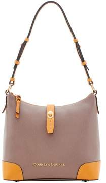 Dooney & Bourke Claremont Hobo Shoulder Bag - TAUPE - STYLE