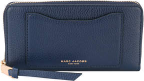 Marc Jacobs monogram wallet - BLUE - STYLE