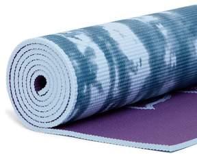 Gaiam 5mm Lotus Two-Tone Yoga Mat - Purple Lotus