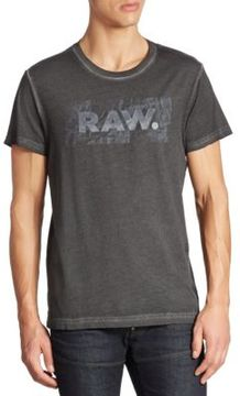 G Star Graphic Printed Cotton Tee