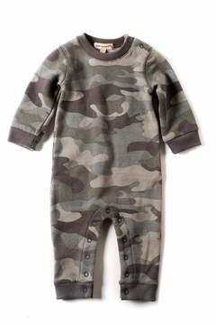 Appaman Grey Camouflage Romper
